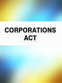 Pdf Corporations Act Telecharger