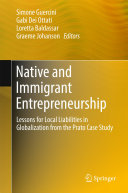 Native and Immigrant Entrepreneurship