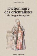 Pdf Dictionnaire des orientalistes de langue française Telecharger