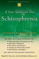 Pdf If Your Adolescent Has Schizophrenia