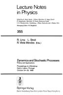 Dynamics And Stochastic Processes Book PDF