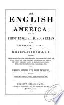 The English in America Book PDF