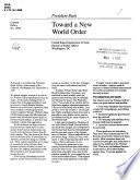 Toward a New World Order Book PDF