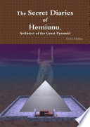 Download The Secret Diaries of Hemiunu, Architect of the Great Pyramid Pdf