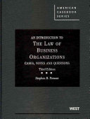 An Introduction to the Law of Business Organizations