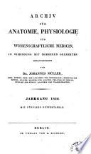 Archiv F  r Anatomie  Physiologie  und Wissenschaftliche Medicin Book