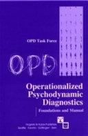 Operationalized Psychodynamic Diagnostics