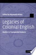 Legacies Of Colonial English