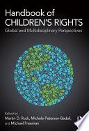 Handbook Of Children S Rights Book