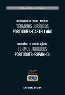 Diccionario de correlación de términos jurídicos Portugués-Castellano