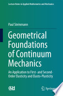 Geometrical Foundations of Continuum Mechanics Book