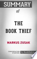 Summary of The Book Thief by Markus Zusak | Conversation Starters
