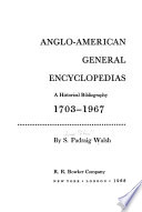 Anglo-American General Encyclopedias