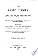 The Early History of the Town of Birr, Or Parsonstown