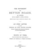 The Movement for Better Roads