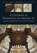 A Companion To Renaissance And Baroque Art PDF