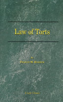 The Law of Torts ebook