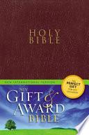 Holy Bible  : New International Version, Burgundy, Leather-Look, Gift & Award Bible