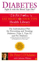 Diabetes: Fight It with the Blood Type Diet ebook