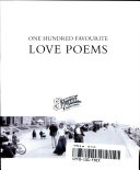 One Hundred Favourite Love Poems