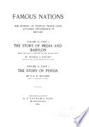 The Story of Media and Babylon from the Fall of Nineveh to the Persian War Book