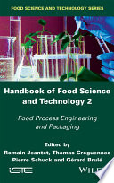 Handbook of Food Science and Technology 2 Book