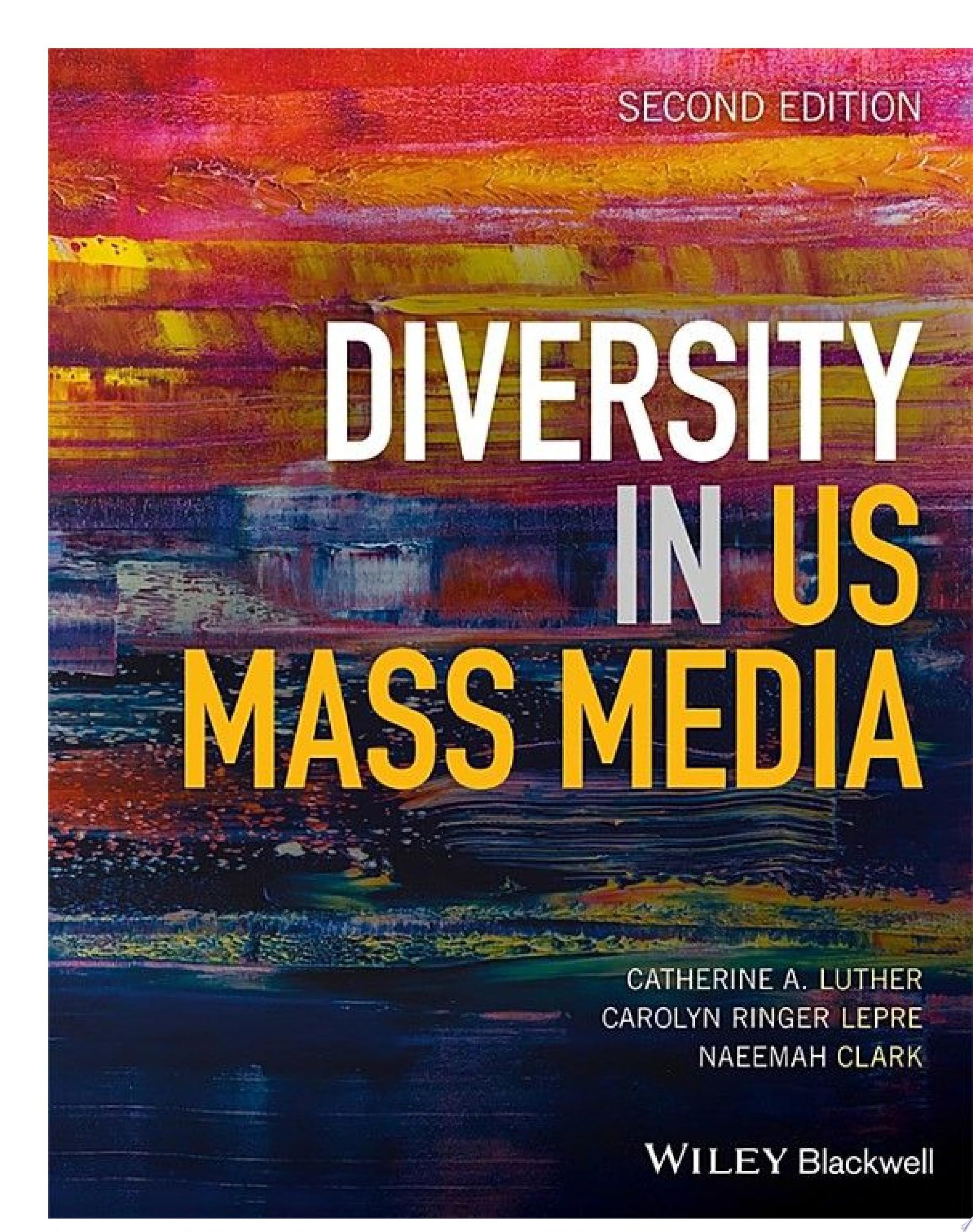 Diversity in U S  Mass Media
