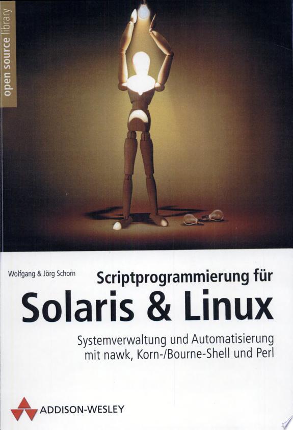 Scriptprogrammierung für Solaris &