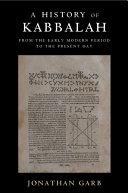A History of Kabbalah