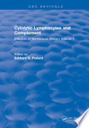 Cytolytic Lymphocytes And Complement Effectors Of The Immune System