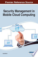 Security Management in Mobile Cloud Computing