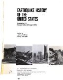 Earthquake History of the United States