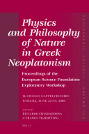 Physics and Philosophy of Nature in Greek Neoplatonism