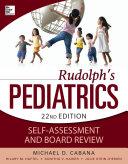 Rudolphs Pediatrics Self-Assessment and Board Review Pdf/ePub eBook
