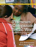 The Practicum Companion for Social Work