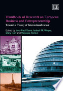 Handbook of Research on European Business and Entrepreneurship