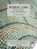 Cover of Public Law: Text, Cases, and Materials 2e
