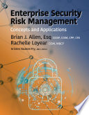Enterprise Security Risk Management Book
