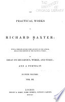 The Practical Works Of Richard Baxter Book PDF