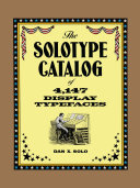 Pdf The Solotype Catalog of 4,147 Display Typefaces Telecharger