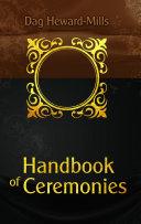 Handbook Of Ceremonies Book