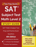SAT Subject Test Math Level 2 Study Guide Book