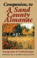 Companion to A Sand County Almanac