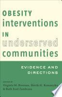 Obesity Interventions In Underserved Communities Book PDF