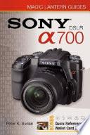 Sony Dslr A700