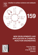 New Developments and Application in Chemical Reaction Engineering Book