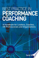 Best Practice in Performance Coaching