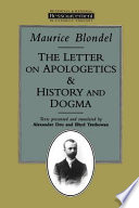 The Letter on Apologetics  and History and Dogma