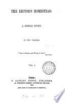 The rector's homestead Pdf/ePub eBook