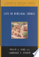 Life In Biblical Israel Book
